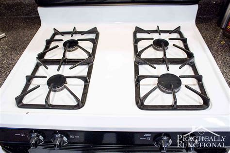 Stove Tops How To Really Clean A Stove Top Even All The Baked On Gunk