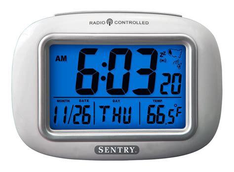 atc sentry weather atomic clock
