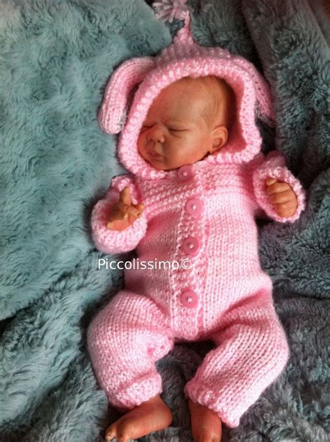 knitted all in one baby suit available now 12 quot bunny all in one suit knitting pattern
