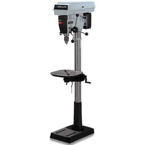 Delta Floor Drill Press delta 17 965 3 4 horsepower 16 1 2 inch floor drill press