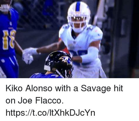 Joe Flacco Memes - kiko alonso with a savage hit on joe flacco