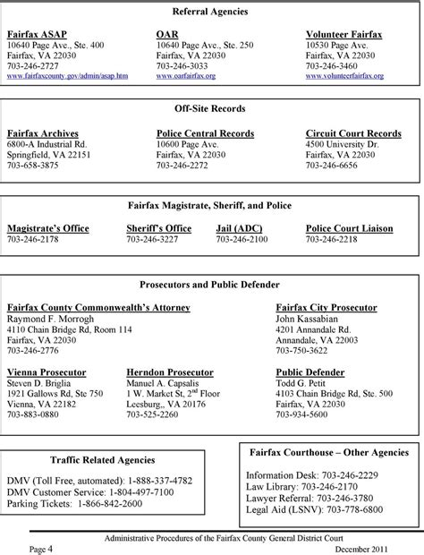 Fairfax County Judiciary Search Administrative Procedures The Fairfax County General District Court Court Practice And