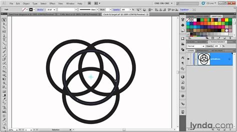 tutorial illustrator advanced illustrator tutorial how to create a celtic knot lynda