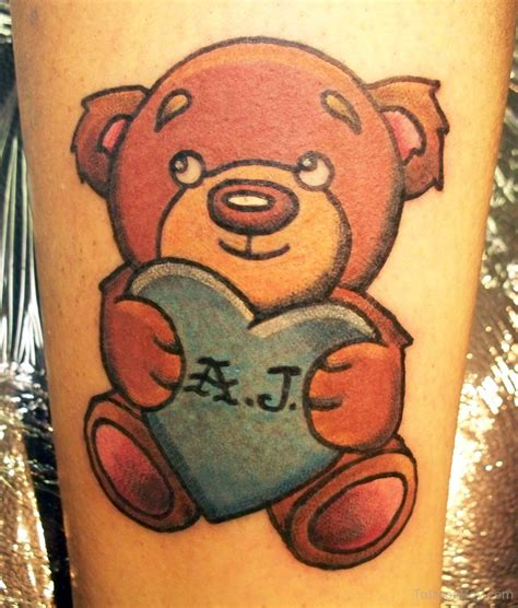 small teddy bear tattoos teddy tattoos designs pictures page 6