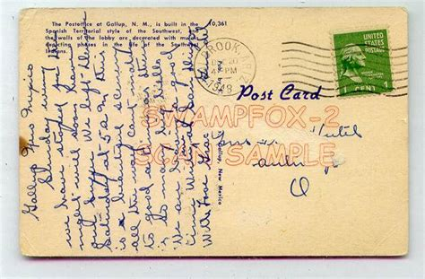 playle s us post office gallup new mexico 1948