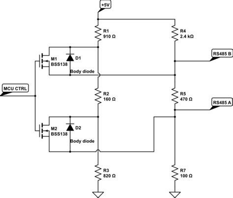 why use termination resistor rs485 selectable termination device electrical engineering stack exchange