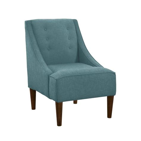 teal armchair descent tufted arm chair in teal