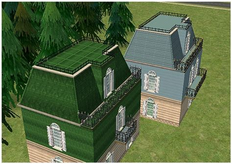 roof decorations mod the sims 4 recolours of al roof decoration