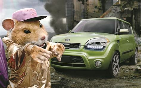 Hamster Kia Commercial Find Hamsters Are Back Rolling In 2012 Kia Soul