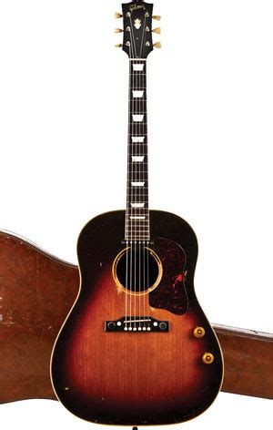 Gibson Feared Nolte Style Mugshot by 1955 Gibson J 160e