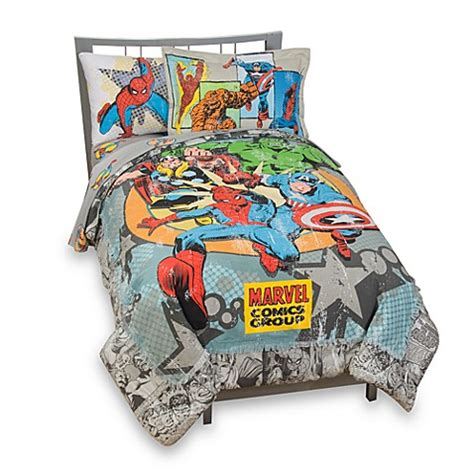 marvel comics bedding vintage marvel comics complete bedding ensemble twin