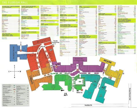 layout of florida mall orlando fl orlando by milia compras