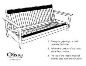 futon gripper pad