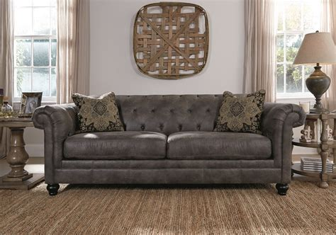 living room design brown sofa