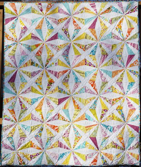 Quilt Pattern Free by Ahhh Quilting Central Park Kaleidoscope Quilt