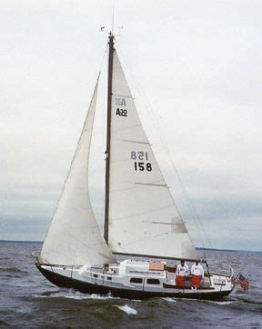 sailboats used in competitive sailing the alberg 30 sailboat bluewaterboats org sailboats 30