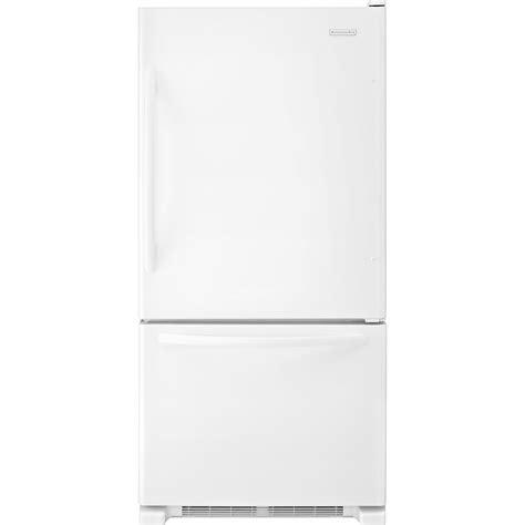 Single Door Refrigerator With Bottom Drawer Freezer by Kitchenaid Kbrs22kw 21 9 Cu Ft Single Door Bottom