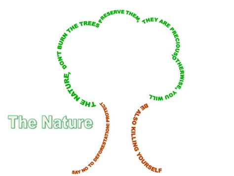 tree shape poem template tile sig feature concrete poetry as a way to enhance
