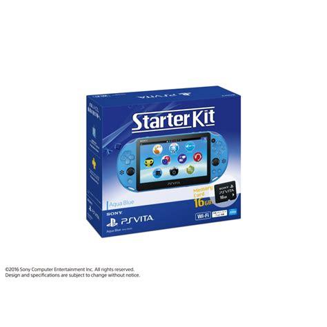 Starter Kit Vit E playstation vita starter kit アクア ブルー hmv