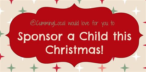 sponsor a child for christmas gift sponsor a child this