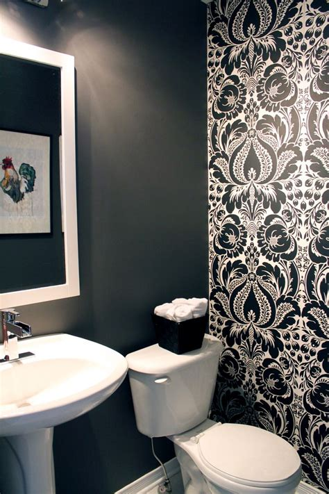 powder room accent wall ideas i like the idea of doing 1 wall in a powder room with a
