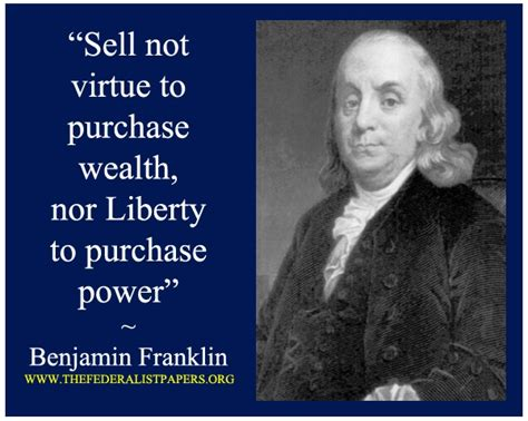 Quote Of The Day Benjamin Franklin by Benjamin Franklin Quotes Liberty Quotesgram