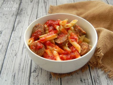kid s menu italian penne pasta picture of cliffside italian sausage penne pasta recipe a helicopter mom
