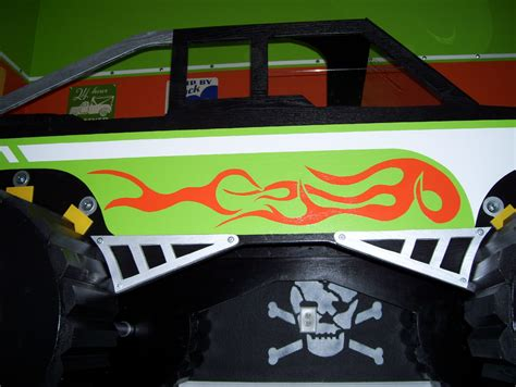monster truck beds skull krusher monster truck bed