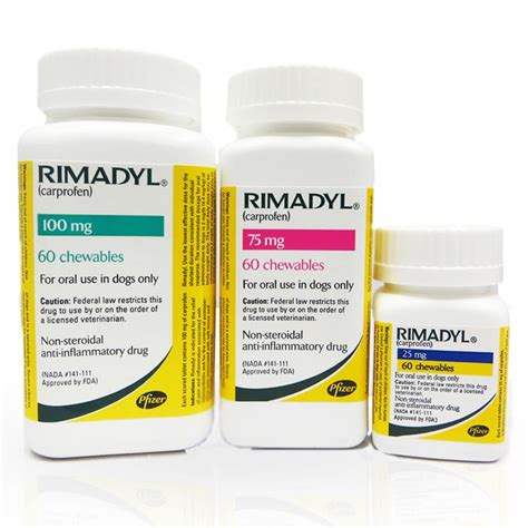 rimadyl 75mg for dogs rimadyl chewable tablets for dogs 25 mg 75 mg and 100 mg