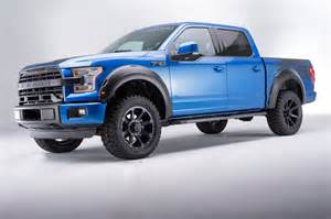 roush f 150 in blue metallic it s a ford