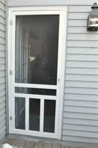 Installing Screen Door how to install a screen door teeny ideas
