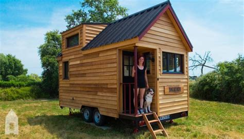 Micro Tiny House by Photos J Ai Construit Ma Quot Tiny House Quot 14 M2 Sur Roues