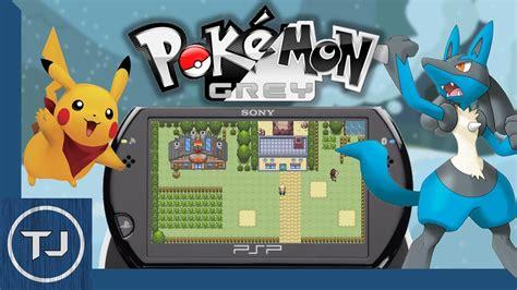 psp themes pokemon free download pokemon grey psp homebrew game download 2017 youtube