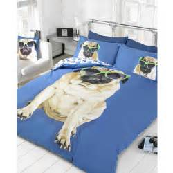 pug beds uk pug design duvet cover sets in single and bedding bedroom ebay
