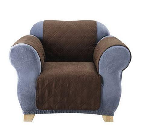 sure fit soft faux suede furniture friend pet throw