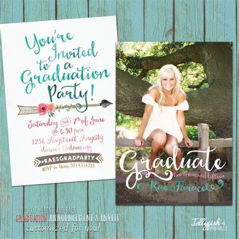 graduation announcement template best printable graduation