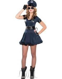 Teen girls locked n loaded cop costume party city