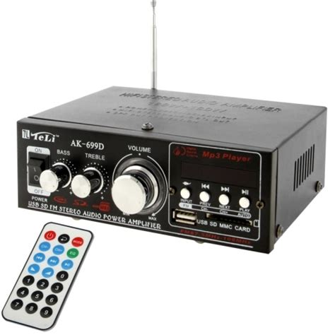 Power Lifier Usb hifi stereo audio mp3 power lifier with remote support fm usb sd mmc card digital