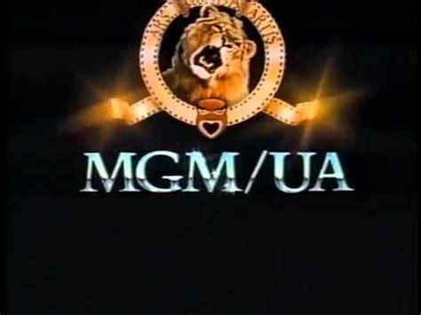 mgm ua home 1992 company logo vhs capture