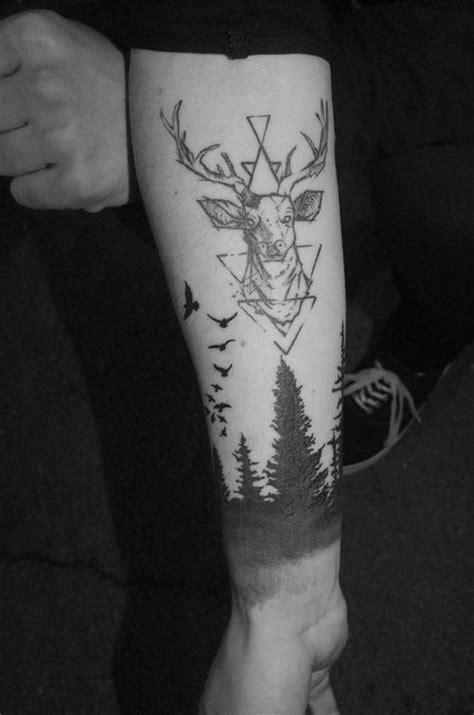30 amazing deer head tattoo ideas 2018