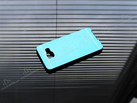 Motomo Samsung A7 Metal motomo prizma samsung galaxy a7 2016 metal mavi rubber k箟l箟f