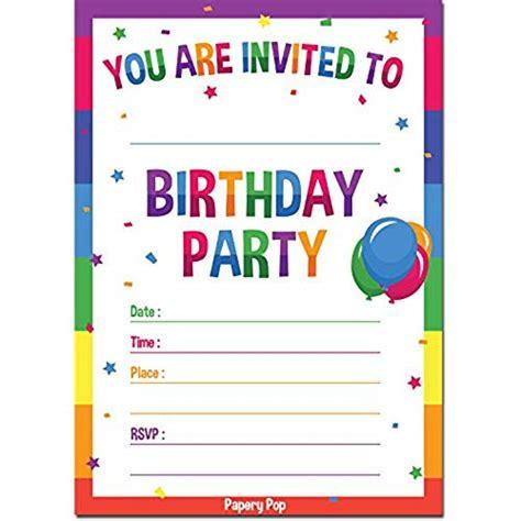 birthday card invitation sle birthday invitations