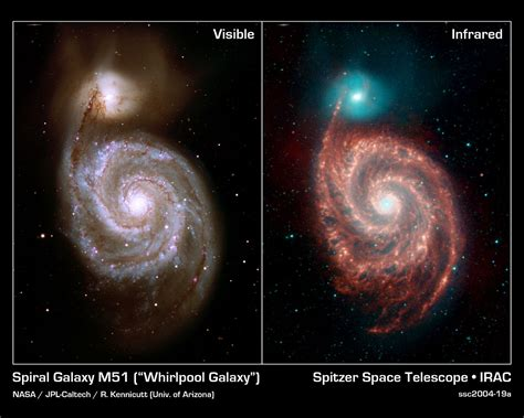 whirlpool galaxy messier 51 the whirlpool galaxy universe today