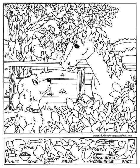 printable hidden pictures free coloring pages of easter hidden objects