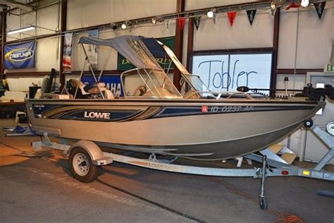 lowe boats used used lowe aluminum fish boats for sale boats