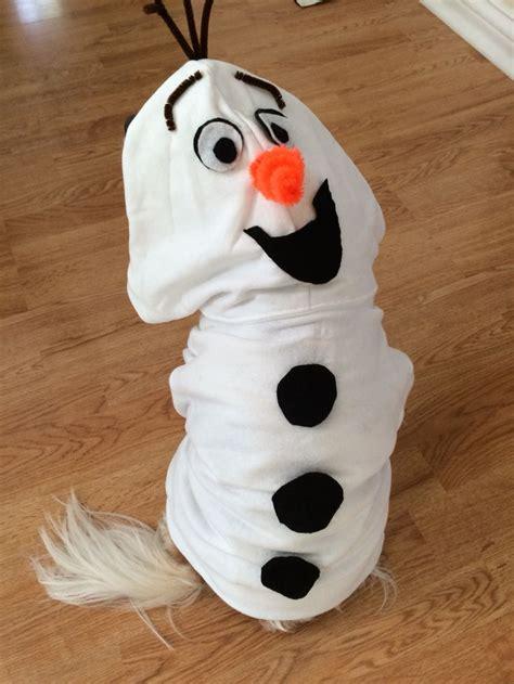 easy olaf costume   dog      kids
