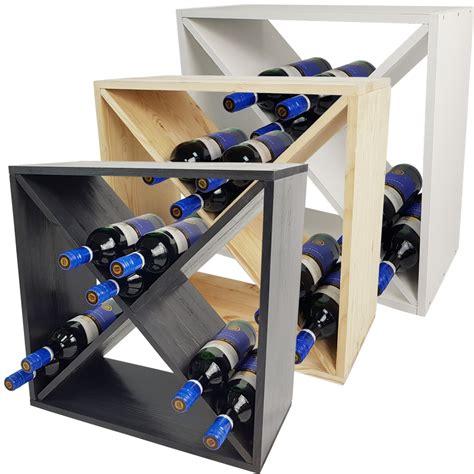 Scaffale Per Bottiglie Di by Portabottiglie Bacco X Cube Scaffale Porta Bottiglie