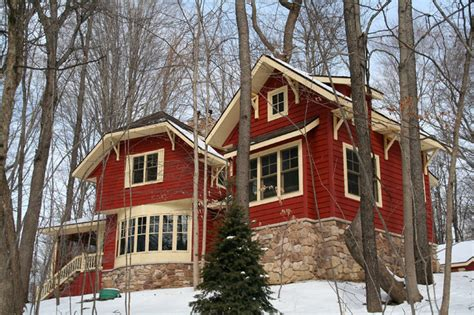 craftsman cabin craftsman cabin in the woods craftsman exterior