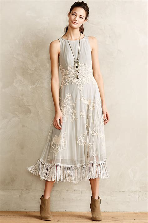 Anthropologie To Carry The Leifsdottir Line by Winter Solstice Dress Anthropologie