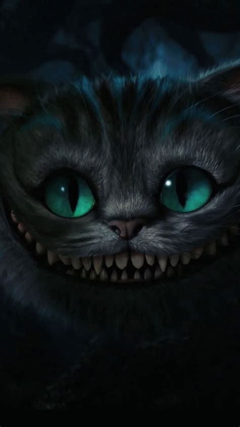 cheshire cat wallpaper tim burton 50 hd cat iphone wallpapers